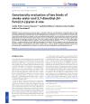 Gentoxicity testing, Lieven Gevaert
